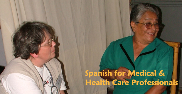 Spanish Lessons for Medical / Health care professional