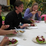 Guatemala Tostadas for Cooking Class at Atitlan Spanish School Jardin de America