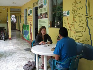 Spanish Lesson at Atitlan Spanish School