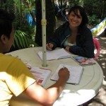 Spanish Lessons One to One - Atitlan Spanish School Jardin de America